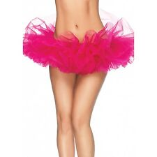 Leg Avenue Organza Tutu Costume Ballet Rave Party Petticoat Mini Skirt 13 Colors