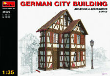 World War II German City Building MODEL KIT  MIN35506 	 Miniart 1:35 Scale