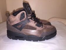 NIKE JORDAN WINTERIZED SPIZIKE DARK CINDER BROWN-BLACK SZ 10 M 375356-201