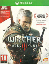 THE WITCHER 3 WILD HUNT DAY ONE EDITION XBOX ONE NEW SEALED