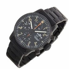 Fortis 1990s B42 597.18.141 Black PVD Chronograph Swiss automatic mens watch