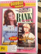 DOUBLE FEATURE  *THE ALMOST PERFECT BANK ROBBERY & WILDFLOWER * USED DVD *(E)