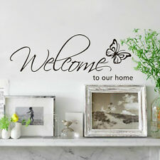 Good DIY Welcome to Our Home Removable Art Vinyl Decal Wall Sticker Home Decor