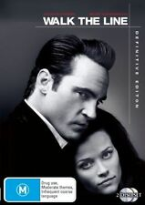 Walk the Line (2005) Joaquin Phoenix, Reese Witherspoon - (2-Disc Set) - NEW DVD