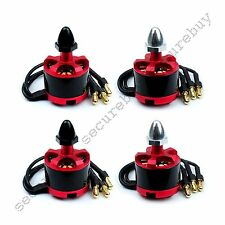 4 x 2212 920KV Brushless Motor CW CCW For DJI Phantom F450 F550 X525 Quad RED se