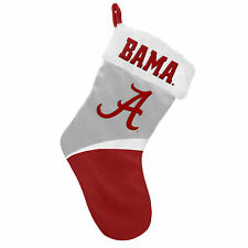 Alabama Crimson Tide NCAA Holiday Christmas Stocking Forever Collectibles