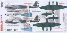 KORA Decals 1/72 ITALIAN JUNKERS JU-88 with Resin Conversion Parts