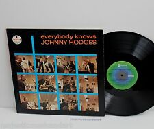 JOHNNY HODGES EVERYBODY KNOWS VINYL LP DUKE ELLINGTON OUT OF PRINT RARE