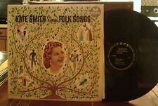 Kate Smith sings Folk Songs Tops records
