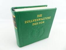Minibuch: Zollverwaltung der DDR Offizin Andersen Nexö e262