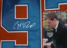 CONNOR McDAVID SIGNED EDMONTON OILERS HOME JERSEY - Proof