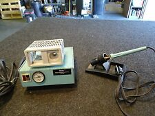 Lot of 2 Weller DS-100 Power Desoldering Station & Weller Soldering Iron w Stand