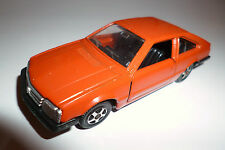 Opel Monza A in rot braun red brown, Mebetoys in 1:43 / 10 cm long