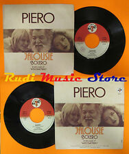LP 45 7'' PIERO Jalousie Bolero 1979 italy BABY RECORDS BR 075 cd mc dvd
