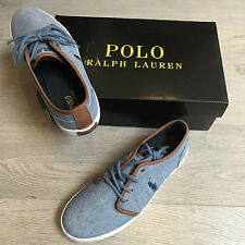 BNIB Ralph Lauren canvas trainers sneakers US 6 UK 5.5 Eu 39 RRP £65 100%Genuine