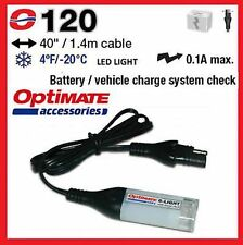 OPTIMATE.No120 LED Light & Battery Check System Lead 12V TRIUMPH , NORTON , BSA