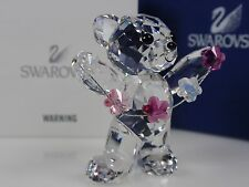SWAROVSKI KRIS BEAR, FLOWERS FOR YOU RETIRED 2012 MIB #1016620