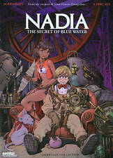 Nadia: The Secret of Blue Water - Complete Collection (DVD, 2014, 5-Disc Set)