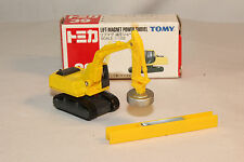 TOMICA TOMY POCKET CARS #39 LIFT MAGNET POWER SHOVEL, EXCELLENT, BOXED