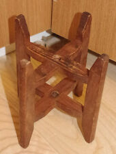 UNUSUAL ANTIQUE JAPANESE WOODEN BOBBIN / SPOOL - WEAVING, SPINNING