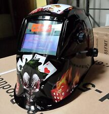 MGM Arc Tig mig certified mask Auto Darkening Welding Helmet+Grinding Magic MGM
