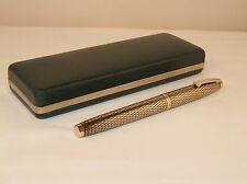 VINTAGE SHEAFFER IMPERIAL SOVEREIGN  FOUNTAIN PEN - 14K  GOLD FILLED - C1972