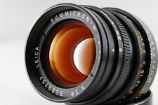 [Excellent+++] Leica Summicron M 50mm f/2 Germany Black E39 Lens From Japan F/S