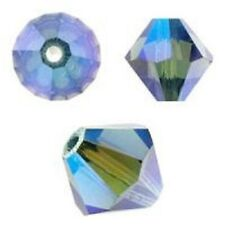 Swarovski Crystal Bicone. Montana 2X Color. 4mm. Approx. 144 PCS. 5328