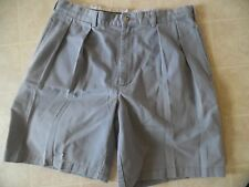 POLO RALPH LAUREN CLASSIC CHINO VINTAGE PLEATED SHORTS MENS 35