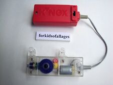 KNEX MOTOR Battery Powered Forward/Reverse Red Replacement Coaster Part/Piece sq