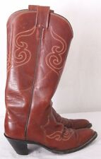 Olathe Boot 111 22535 Cowboy Western Polo Tall Riding Boots Women's US 6M