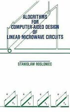 Microwave Library: Algorithms for Computer Aided Design of Linear Microwave...