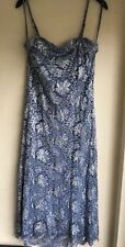 Phase Eight Pale blue & Silver Sequin Dress Size 12