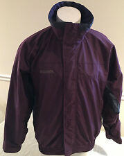 Columbia Sportswear Bugaboo Winter Coat Burgundy Full Zipper Men's Medium