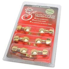GROVER Mini ROTO-GRIP 505G Locking Guitar Tuners, 3x3 GOLD Guitar Part