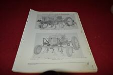 John Deere 4200 4220 Cultivator Dealer's Parts Book Manual DCPA3