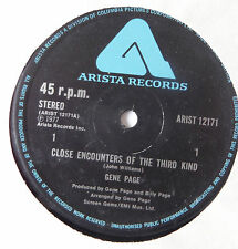 "GENE PAGE : Close encounters of the third kind (12"" UK Vinyl)"