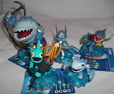 Skylanders Giants Personaggio Bundle-Thumpback Gill Grunt ZAP Chill & Baby Shark