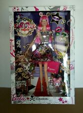 "New Mattel Tokidoki 10th Anniversary Barbie ""Pink Hair"" Black Label"