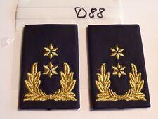 Paesi Bassi rango passante generale 2 stelle GOLDEN 1 PAIA (d88)