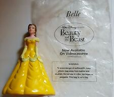 Vintage Beauty and the Beast hand puppets 1992 Pizza Hut (Belle)