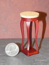 Dollhouse Miniature Mahogany Plant Stand 1:12  1 inch scale   F69 Dollys Gallery