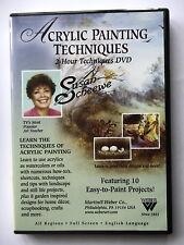 ACRYLIC PAINTING TECHNIQUES - PAR SUSAN SCHEEWE - DVD DEUX HEURES -
