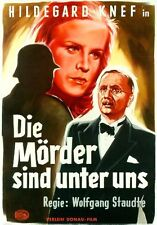 THE MURDERERS ARE AMONG US (1946) * with hard-encoded English subtitles