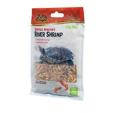 Zilla Munchies River Shrimp Reptile Food Trial Size .35oz Direct From Manufactur