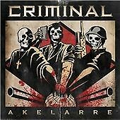 Criminal - Akelarre (CD 2011) New! UK Seller! Lock-Up Slayer Gorefest