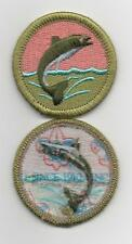 "Fishing Merit Badge, Type L, ""Since 1910"" Back (2012-Current)"