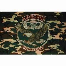 DRAPEAU AIRBORNE Camouflage  AIGLE NEUF,Airsoft,paintball,loisir