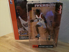 "McFarlane's  NBA Series 1: Allen Iverson - White Jersey ""Closed Mouth Version"