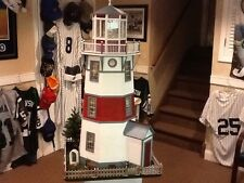 Hand Built Wooden LIGHTHOUSE 1:12 New England STLYE REAL GOOD TOY light Wood